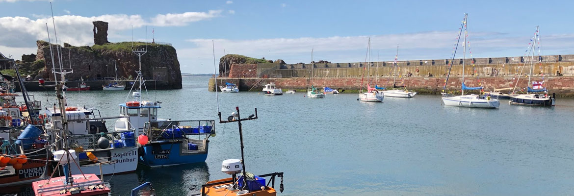 things to do in scotland this weekend - visit dunbar