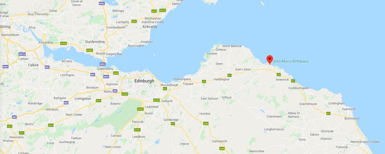 visit Dunbar in East Lothian